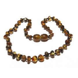 Baltic amber baby teething necklace/anklet for adult