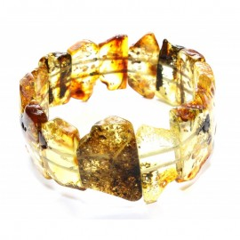 Baltic amber stretch bracelet