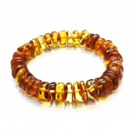Baltic amber stretch bracelet