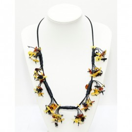 Baltic amber necklace. Adjustable length